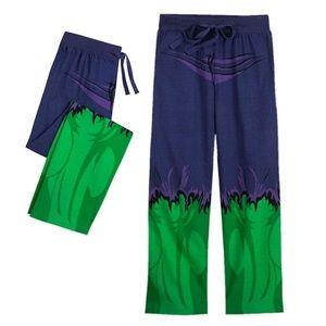 NWT Disney Marvel Hulk Lounge Pants